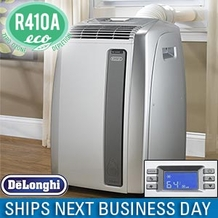 Delonghi PAC A140E 14,000 BTU Portable Room Air Conditioner Cools up to 450 Sq./ Ft.