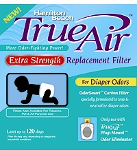 Hamilton Beach 04283 Extra Strength Air Cleaner Diaper Odor Filter