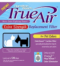 Hamilton Beach 04284 Extra Strength Air Cleaner Pet Odor Filter