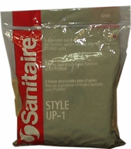 Sanitaire 62100 Style UP-1 High Filtration Vacuum Bags (5 pack)