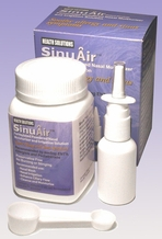 Health Solutions SA200 SinuAir Nasal Moisturizer & Irrigation Solution (200 g)