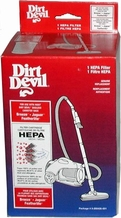 Dirt Devil 3-250435-001 HEPA Vacuum Cleaner Filter