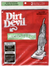 Dirt Devil 3-860090-000 Microfresh Exhaust Filter (2 pack)