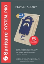 Sanitaire SP200 Style S Vacuum Cleaner Bags (5 pack)