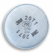 3M 2071 P95 Particulate Filter (1 pair)- price is per pair