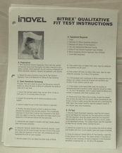 Inovel 10702 Qualitative Test Instructions