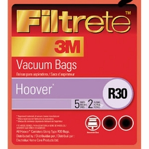 Filtrete Hoover 64706 Type R30 Allergen Bags, 5 Pack of bags