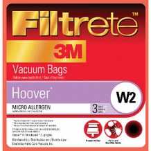 Filtrete Hoover 64712 Type W2 Bags, 3 pack