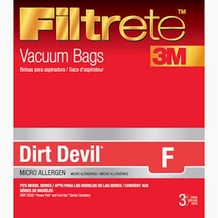 Filtrete Dirt Devil 65702 Type F MicroAllergen Bag, 3 Pack