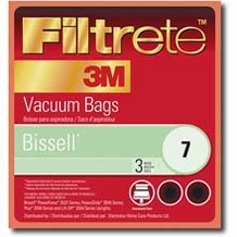 Filtrete Bissell 66700 Type 1 4 & 7 Allergen Bags, 3 Pack