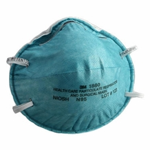 3M 1860 N95 Respirator and Surgical Mask- Box of 20