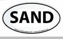 SAND Euro-Style Oval Decal