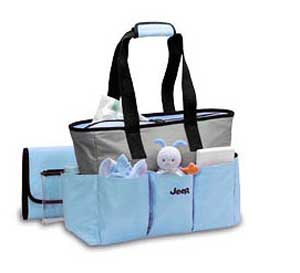 all things jeep jeep diaper bags blue micro fiber tote discontinued. Black Bedroom Furniture Sets. Home Design Ideas