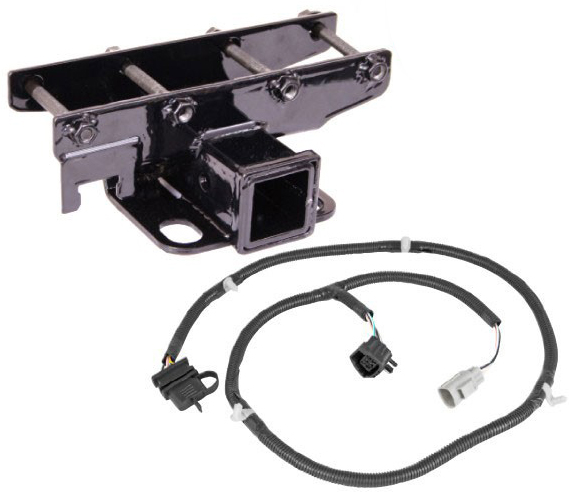 Jeep Jk Flat Tow Wiring Harness : All things jeep receiver hitch with wiring harness kit