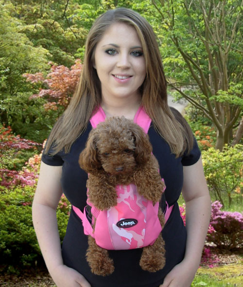 All Things Jeep - Jeep Small Dog Carrier, Pink Camo Front Pack ...