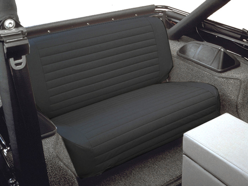 All Things Jeep Seat Cover Rear For Jeep Cj Amp Wrangler