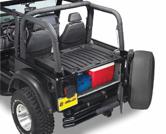 All Things Jeep Bestop Extendatrunk Secure Storage For