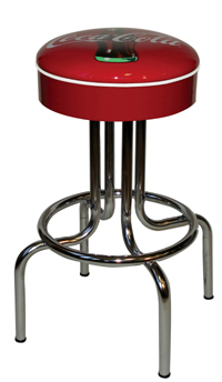Coke Longneck Diner Bar Stool