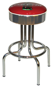 Coca Cola Longneck Bar Stool