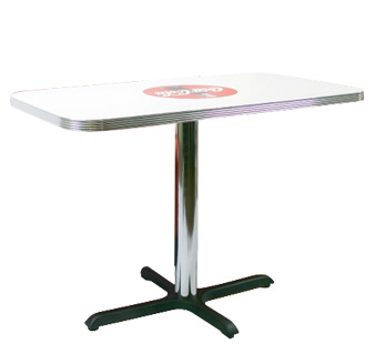 Coca Cola Rectangular Diner Table
