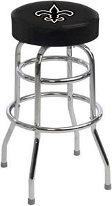 New Orleans Saints Logo Bar Stool