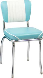 The Malibu Channeled Diner Chair