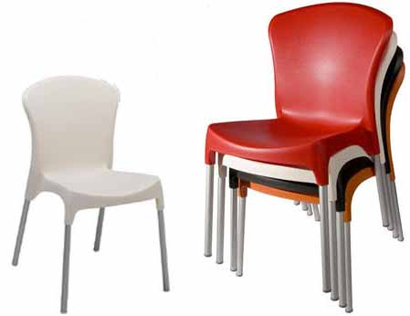 Outdoor Stacking Side Chair