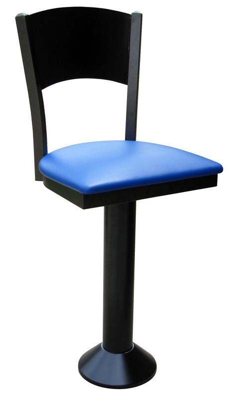 Solid Back Counter Stool