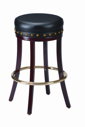 Surprising Studded Pub Bar Stool Gmtry Best Dining Table And Chair Ideas Images Gmtryco