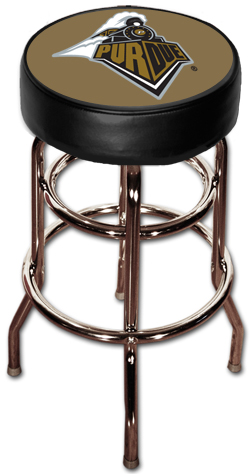 Purdue Logo Bar Stool