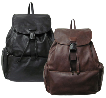 Jumbo Leather Backpack (#1518-03)