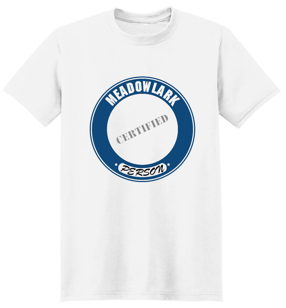Meadowlark T-Shirt - Certified Person