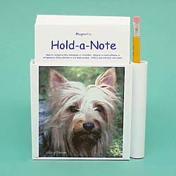 Silky Terrier Hold-a-Note