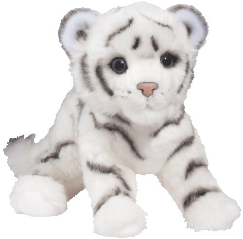 White Tiger Cub 14� Stuffed Plush Animal