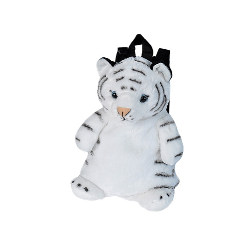 White Tiger Cuddlekins Plush Anima Backpackl 14