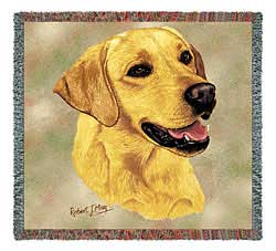 Yellow Lab Blanket