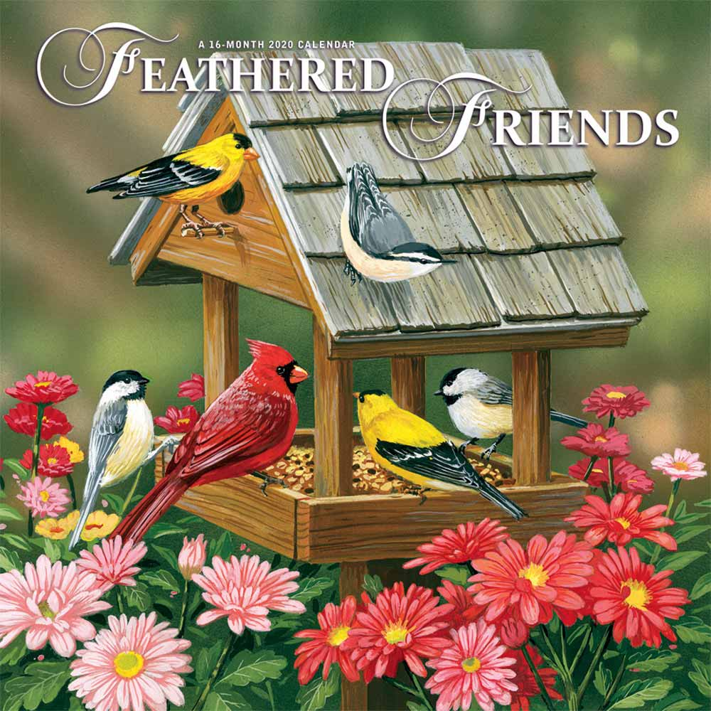 2020 Feathered Friends Calendar