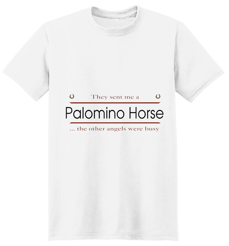 Palomino Horse T-Shirt - Other Angels