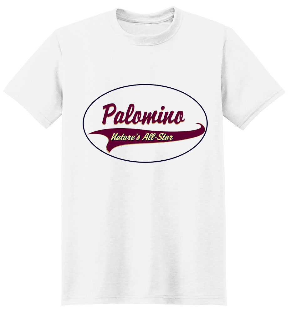 Palomino Horse T-Shirt - Breed of Champions