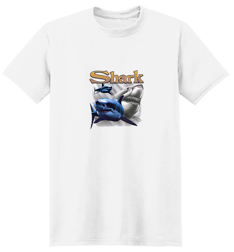 Shark T-Shirt - Bright and Colorful