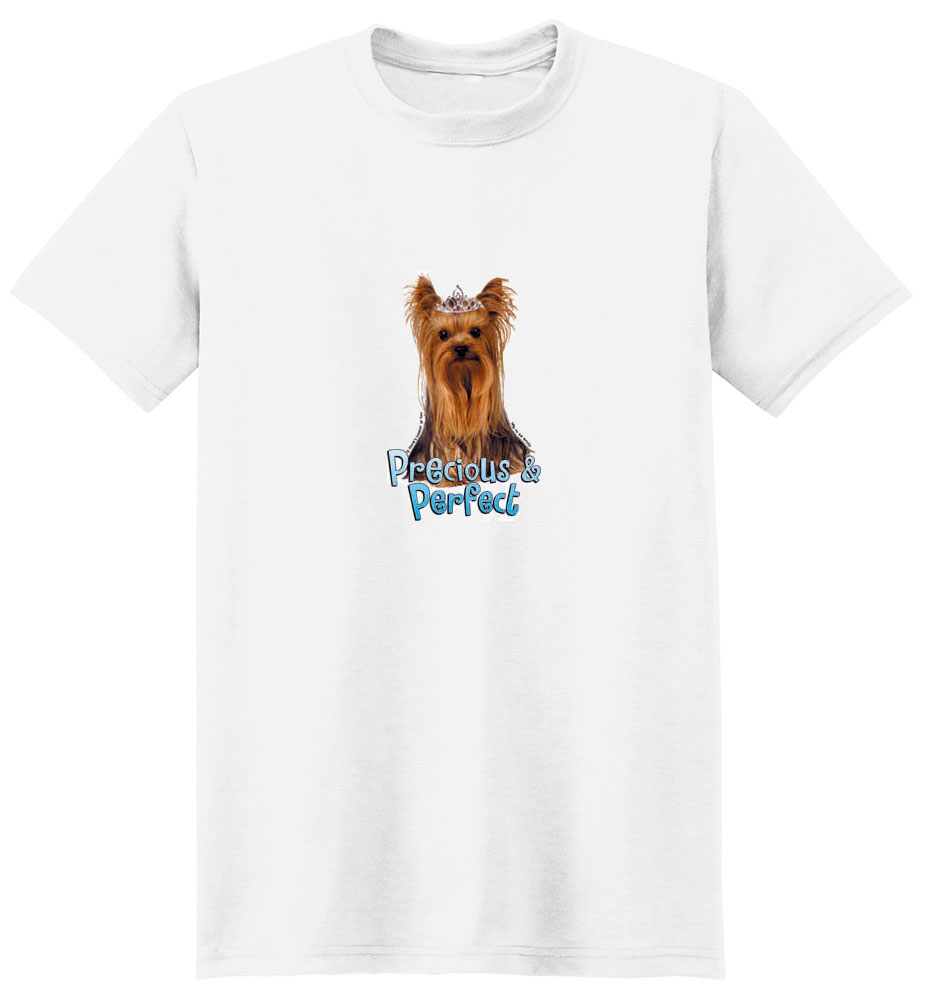 Yorkie T- Shirt Perfect