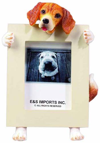 Beagle Picture Frame