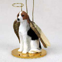 Foxhound Christmas Ornament Angel