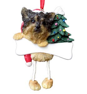 Addorable Yorkshire Terrier Christmas Ornaments Stockings
