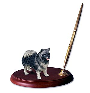 Keeshond Pen Holder