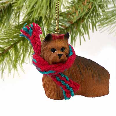 Yorkshire Terrier Tiny One Christmas Ornament