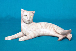Red Tabby Figurine