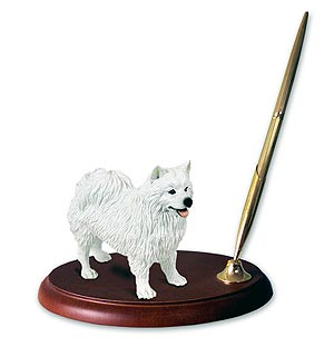 American Eskimo Dog Pen Holder