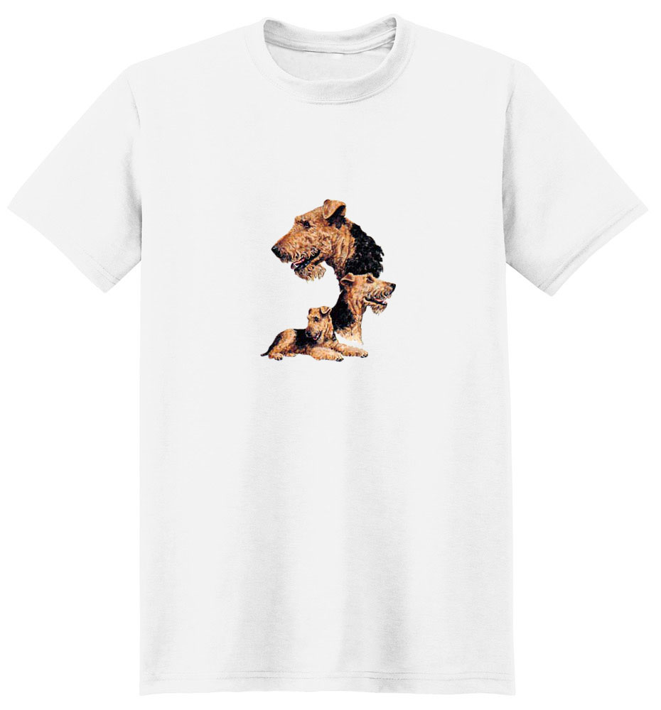 Airedale Terrier T-Shirt - Best Friends