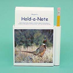 Pheasant Hold-a-Note